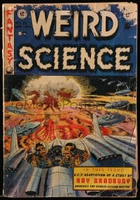 5s070 WEIRD SCIENCE #18 comic book 1953 50 Girls 50 by Al Williamson, Wally Wood cover, Ray Bradbury