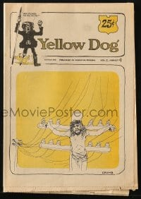 5s002 YELLOW DOG #4 comic book 1968 underground comix with art by Robert Crumb & more!