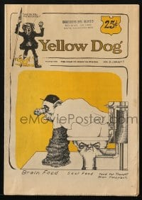 5s003 YELLOW DOG #5 comic book 1968 underground comix with art by Robert Crumb & more!