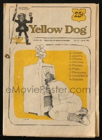 5s004 YELLOW DOG #6 comic book 1968 underground comix with art by Robert Crumb & more!