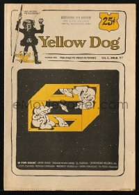 5s005 YELLOW DOG #7 comic book 1968 underground comix with art by Robert Crumb & more!
