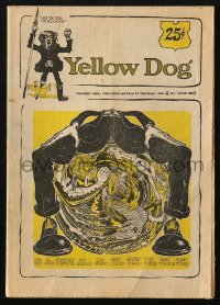 5s006 YELLOW DOG #8 comic book 1969 underground comix with art by Robert Crumb & more!
