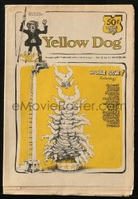 5s007 YELLOW DOG #9 & #10 comic book 1969 underground comix with art by Robert Crumb, double issue!