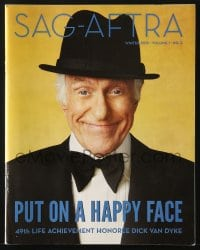 5s529 SAG-AFTRA #3 magazine Winter 2013 49th Life Achievement honoree Dick Van Dyke on the cover!