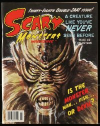 5s532 SCARY MONSTERS MAGAZINE magazine 2001 great monster cover art, 38th double-ZAAT issue!