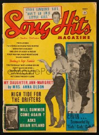 5s559 SONG HITS magazine March 1963 Elvis Presley, Ann-Margret & many top musicians of the day!