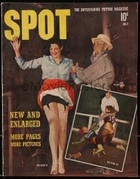 5s569 SPOT magazine July 1941 America's Challenge to the Dive Bombers, Earl Carroll's nightclub!