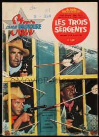 5s577 STAR CINE BRAVOURE French magazine January 31, 1963 Frank Sinatra & Rat Pack in Sergeants 3!