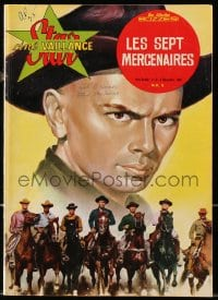 5s578 STAR CINE VAILLANCE French magazine December 9, 1961 cool fumetti of The Magnificent Seven!