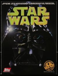 5s580 STAR WARS magazine 1997 Official 20th Anniversary Commemorative issue, holofoil cover!