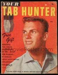 5s588 TAB HUNTER magazine 1957 over 100 pics, many never before published, exclusively for you!