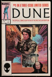 5s036 DUNE group of 3 comic books 1984 David Lynch sci-fi epic, the first three issues!