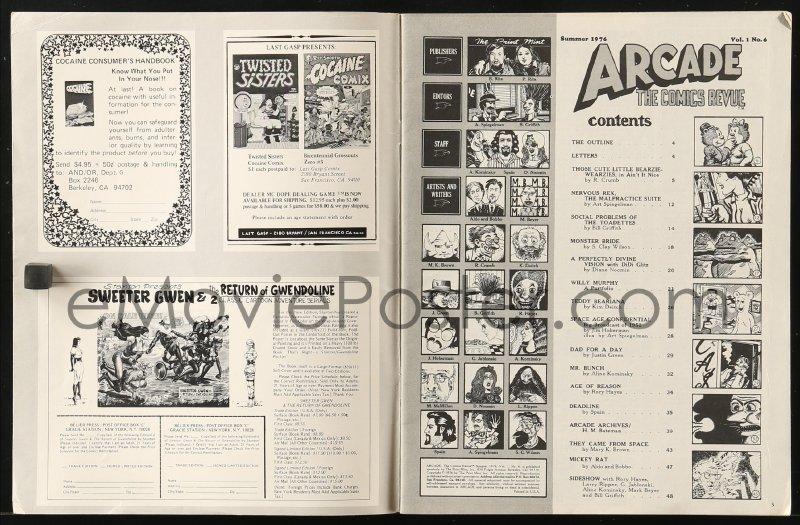 arcade comics revue 1975