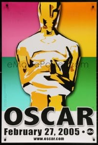 5t005 77th ANNUAL ACADEMY AWARDS DS 1sh 2005 Brett Davidson artwork of the Oscar!