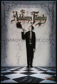 5t018 ADDAMS FAMILY int'l teaser 1sh 1991 Carel Struycken as Lurch, creepy, kooky, spooky, ooky!