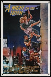 5t019 ADVENTURES IN BABYSITTING int'l 1sh 1987 rare Struzan art, A Night on the Town!!