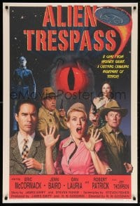 5t031 ALIEN TRESPASS 1sh 2009 R.W. Goodwin, Jim Swift, made to look like a poster from 1957!