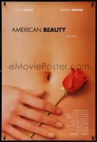 5t039 AMERICAN BEAUTY DS 1sh 1999 Sam Mendes Academy Award winner, sexy close up image!