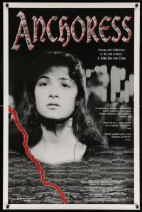 5t045 ANCHORESS 1sh 1994 Chris Newby medieval religion, a film for our time!