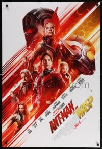 5t051 ANT-MAN & THE WASP advance DS 1sh 2018 Marvel, Paul Rudd and Evangeline Lilly in title roles!