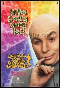 5t062 AUSTIN POWERS: THE SPY WHO SHAGGED ME teaser 1sh 1997 Mike Myers as Dr. Evil!