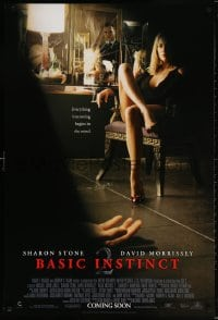 5t080 BASIC INSTINCT 2 advance 1sh 2006 Michael Caton-Jones, sexy Sharon Stone!