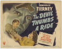 5w051 DEVIL THUMBS A RIDE TC 1947 BAD Lawrence Tierney, fate and fury meet to spawn murder!