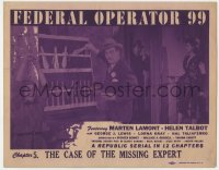 5w065 FEDERAL OPERATOR 99 chapter 5 TC 1945 Helen Talbot, George Lewis, Case of the Missing Expert!