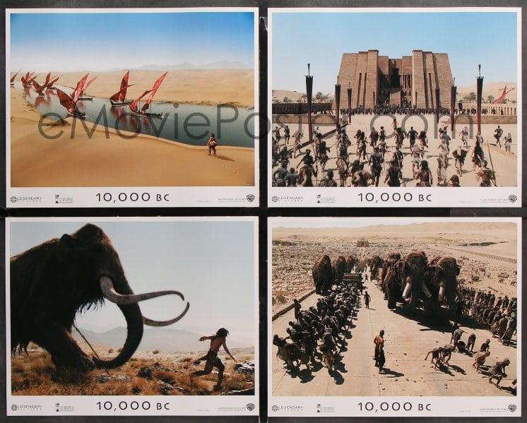 eMoviePoster com: 6c022 10,000 BC 8 LCs 2008 cool