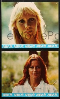 6d023 ABBA: THE MOVIE 10 color English FOH LCs 1978 Swedish pop rock group sold more records than anyone!