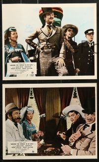 6d027 AROUND THE WORLD IN 80 DAYS 8 color English FOH LCs 1956 Marlene Dietrich & many more!