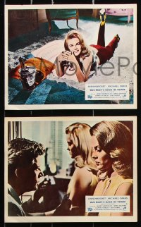 6d033 BUS RILEY'S BACK IN TOWN 8 color English FOH LCs 1965 sexy Ann-Margret & Michael Parks!