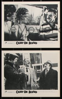 6d011 CARRY ON BEHIND 6 English FOH LCs 1976 wacky images from English comedy, Elke Sommer, rare!