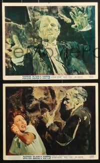 6d039 DOCTOR BLOOD'S COFFIN 8 color English FOH LCs 1961 can you stand the terror, the awful secret it contains!