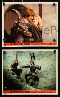 6d041 FIGHTING PRINCE OF DONEGAL 8 color English FOH LCs 1966 Disney, rebel rocks an empire!