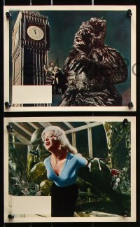 6d050 KONGA 8 color English FOH LCs 1961 great images of the giant angry ape terrorizing London!