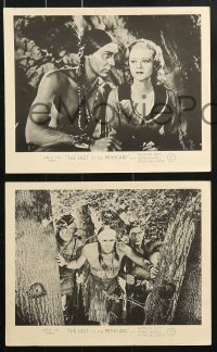 6d004 LAST OF THE MOHICANS 8 English FOH LCs 1936 Philip Reed & Barrat, Randolph Scott & Barnes!