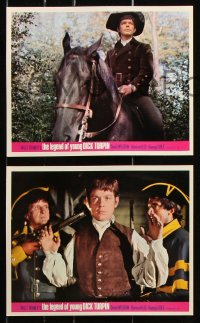 6d051 LEGEND OF YOUNG DICK TURPIN 8 color English FOH LCs 1966 Walt Disney's Wonderful World of Color!