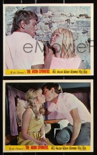 6d056 MOON-SPINNERS 8 color English FOH LCs 1964 pretty Hayley Mills, Eli Wallach, Pola Negri!