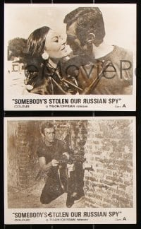 6d014 O.K. YEVTUSHENKO 5 English FOH LCs 1968 Tom Adams, Somebody's Stolen Our Russian Spy!