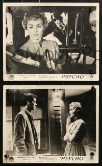 6d005 PSYCHO 8 English FOH LCs 1960 Janet Leigh, Anthony Perkins, Gavin, Alfred Hitchcock classic!