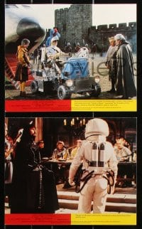 6d069 SPACEMAN & KING ARTHUR 8 color English FOH LCs 1979 wacky Disney sci-fi, chaos in the cosmos!