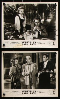 6d008 SPRING IN PARK LANE 8 English FOH LCs 1949 great images of Anna Neagle & Michael Wilding!