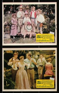 6d072 SWISS FAMILY ROBINSON 8 color English FOH LCs 1961 John Mills, Walt Disney classic!
