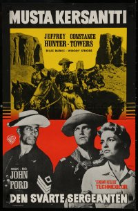 6f263 SERGEANT RUTLEDGE Finnish 1960 John Ford surpasses the greatness that won him 4 Academy Awards!