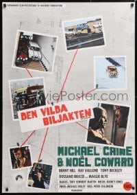 6f044 ITALIAN JOB Swedish 1969 Michael Caine, completely different cool connected images!