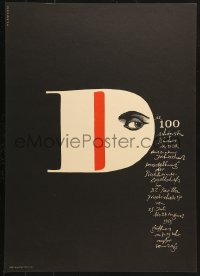 6g210 DIE 100 SCHONSTEN BUCHER DER DDR 17x23 East German museum/art exhibition 1963 Beautiful Books!
