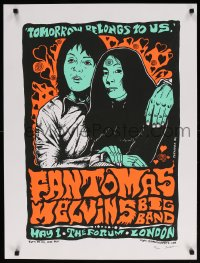6g038 JERMAINE ROGERS signed #35/150 24x32 art print 2006 by the artist, Fantomas Melvins Big Band!