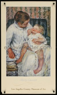 6g231 MARY CASSATT 22x38 museum/art exhibition 1994 mother and child by the artist!