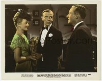 6h049 BLUE SKIES color 8x10.25 still 1946 Fred Astaire between Jaon Caulfield & Bing Crosby!